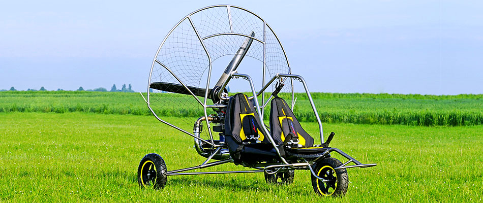 chariot paramoteur ulm funflyer2 adventure